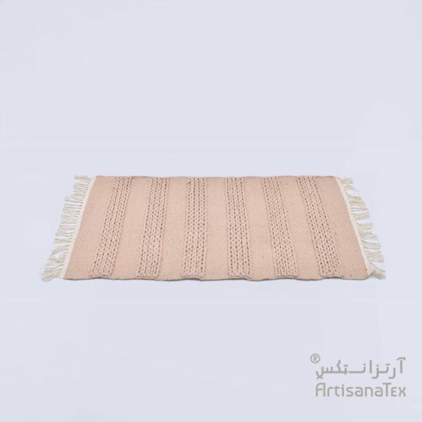 1-Bande-Tresse-descente-de-lit-rug-sheep-wool-laine-Handemade-artisanat-artisanatex-tunisie-tunisia