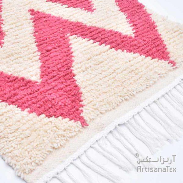 1-Caroline-Rose-zarbia-tapis-Descente-de-lit-Rug-carpet-laine-artisanatex-handmade-craft-tunisie-tunisia-artisanat
