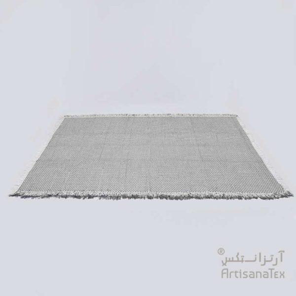 1-Mimosa-gris-Tapis-Carpet-Zarbia-Coton-cotton-artisanat-artisanatex-tunisie-Tunisia