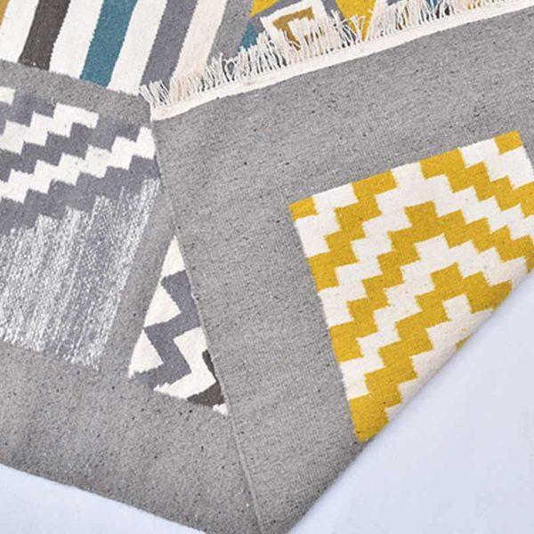 1-MosaiqueTapis-Zarbia-carpet-laine-sheep-wool-artisanat-artisanatex-handmade-craft-tunisie-tunisia