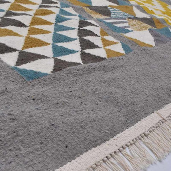 3-MosaiqueTapis-Zarbia-carpet-laine-sheep-wool-artisanat-artisanatex-handmade-craft-tunisie-tunisia