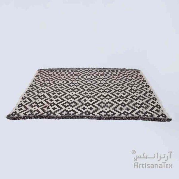 4-Arabesk-Tapis-Zarbia-Carpet-marron-coton-cotton-artisanat-artisanatex-tunisie-tunisia