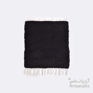 5-Camomille-Noir-zarbia-tapis-Descente-de-lit-Rug-carpet-laine-sheep-wool-artisanat-artisanatex-handmade-craft-tunisie-tunisia